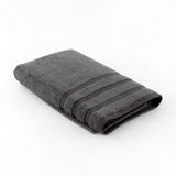 Plain (Grey) Cotton Bath Towel 27x54 Inch