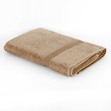 (Sand) Plain Cotton Bath Towel(30 X 60 Inch)
