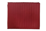 Solid Maroon 108 X 108 Inch Bedsheet Set -(1 bedsheet+ 2 Pillow Covers)