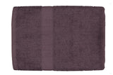 Purple Cotton Bath Towel Plain(30 X 60 Inch)