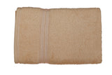 Beige Cotton Bath Towel Plain(30 X 60 Inch)