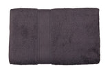 Grey Cotton Bath Towel Plain(30 X 60 Inch)