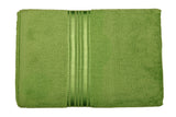 Green Cotton Bath Towel Plain(30 X 60 Inch)