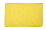 Yellow Velvet Bath Towel Plain(30 X 60 Inch)