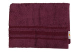 Purple Cotton Bath Towel Plain(27 X 54 Inch)