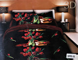 Organic Collection Cotton Bedsheet(90 X 100 Inch) Set -(1 bedsheet+ 2 Pillow Covers)
