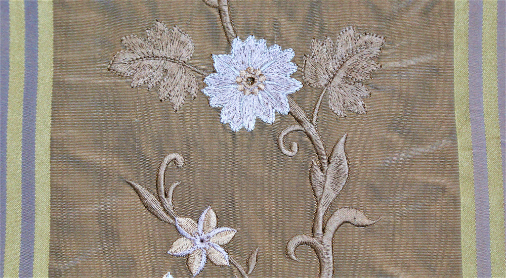 TFC 6406 Upholstery Fabric Silk (Brown)-Rs. 2250 per mtr