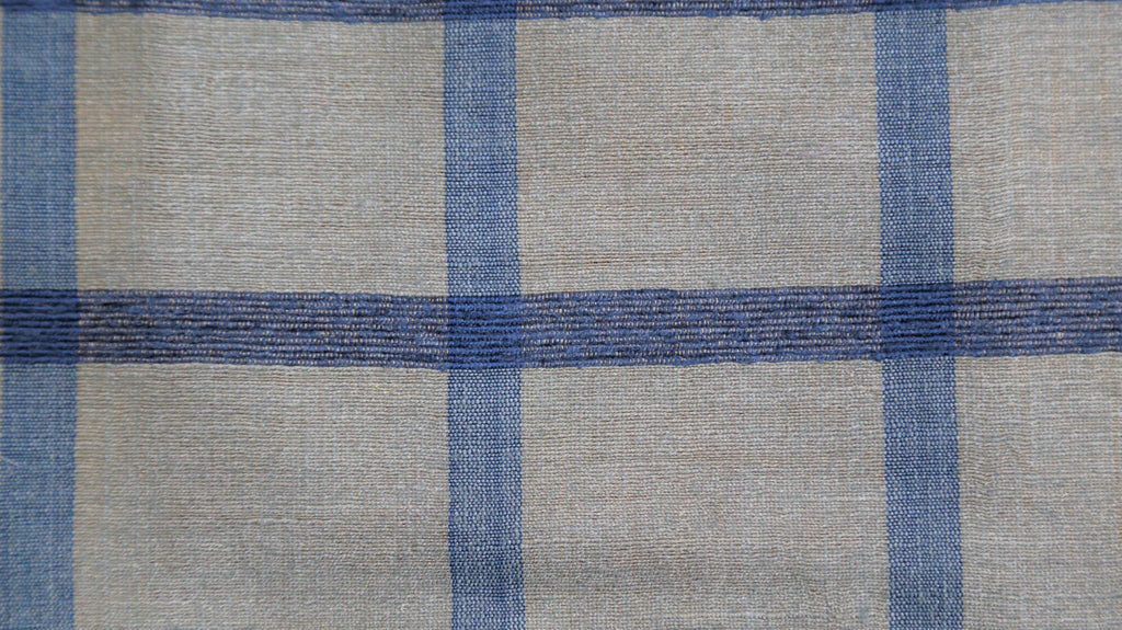 Scheme Upholstery Fabric Silk (Grey/Blue)-Rs. 750 per mtr
