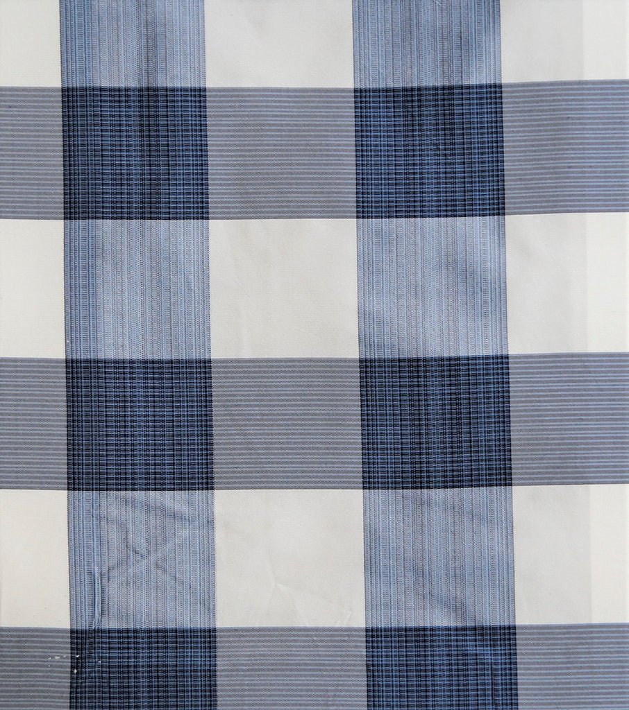 Tafeta Check Upholstery Fabric Silk (Multi)-Rs. 1150 per mtr