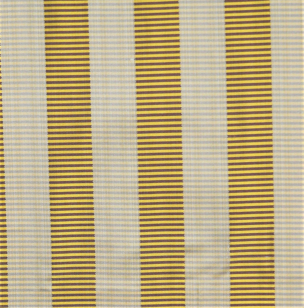 Tafeta Stripe Upholstery Fabric Silk (Gold)-Rs. 1150 per mtr