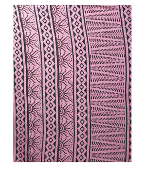 Pink Bagh Hand Block Print Handcrafted Cotton Saree-Saree-Kalakari India-BAPASA0049-Bagh, Cotton, Geographical Indication, Hand Blocks, Hand Crafted, Heritage Prints, Sarees, Sustainable Fabrics-[Linen,Ethnic,wear,Fashionista,Handloom,Handicraft,Indigo,blockprint,block,print,Cotton,Chanderi,Blue, latest,classy,party,bollywood,trendy,summer,style,traditional,formal,elegant,unique,style,hand,block,print, dabu,booti,gift,present,glamorous,affordable,collectible,Sari,Saree,printed, holi, Diwali, bir