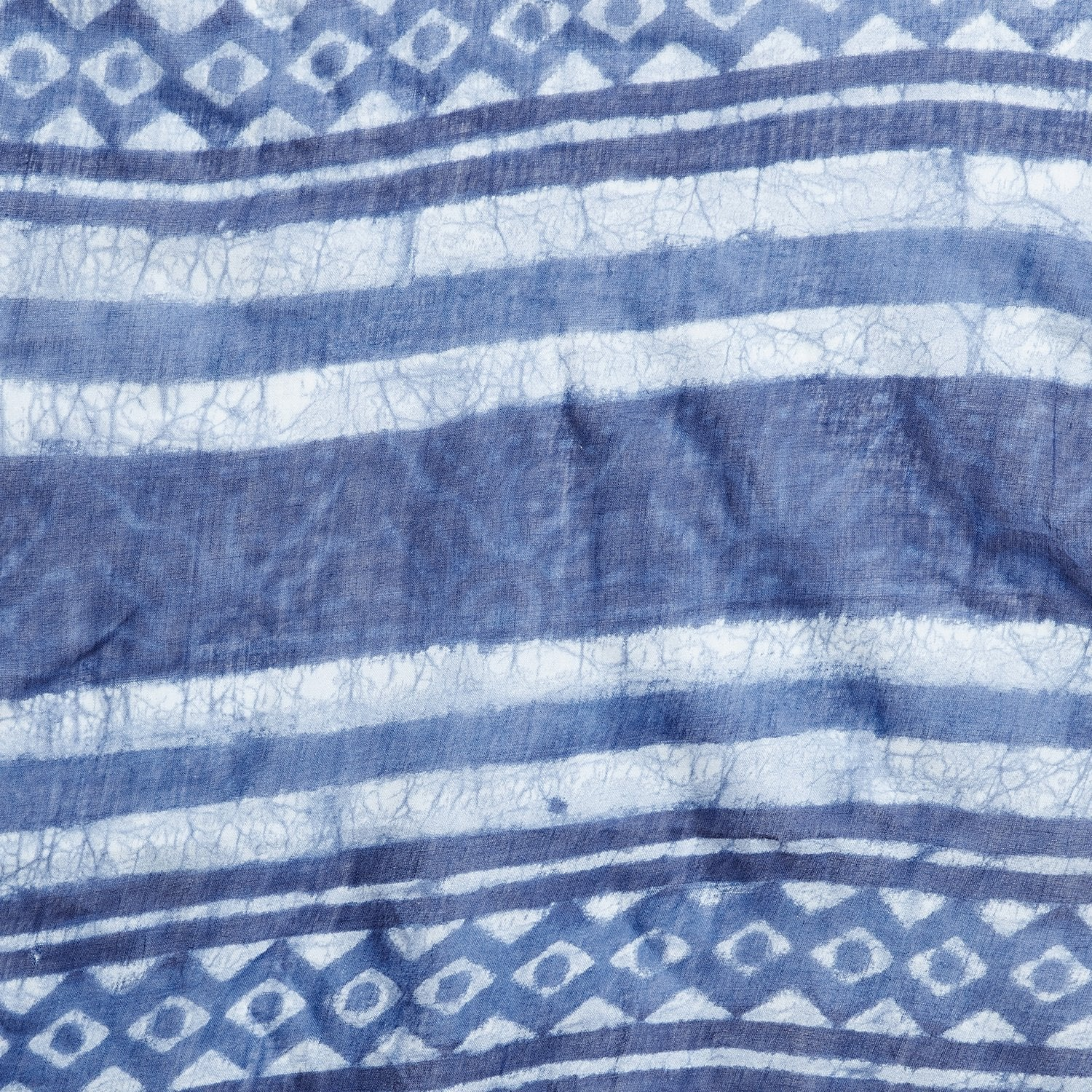 Indigo Dabu Hand Block Print Handcrafted Cotton Saree-Saree-Kalakari India-BAPASA0053-Cotton, Dabu, Geographical Indication, Hand Blocks, Hand Crafted, Heritage Prints, Indigo, Natural Dyes, Sarees, Sustainable Fabrics-[Linen,Ethnic,wear,Fashionista,Handloom,Handicraft,Indigo,blockprint,block,print,Cotton,Chanderi,Blue, latest,classy,party,bollywood,trendy,summer,style,traditional,formal,elegant,unique,style,hand,block,print, dabu,booti,gift,present,glamorous,affordable,collectible,Sari,Saree,pr