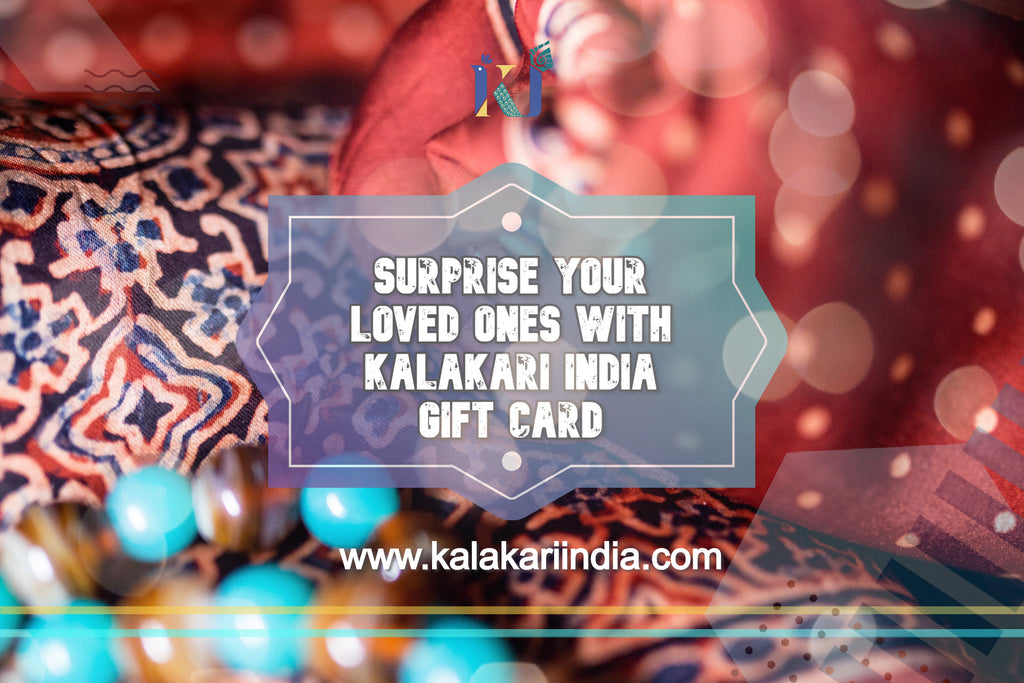 Kalakari India Gift Card for your loved ones-Gift Card-Kalakari India-gift card-[Linen,Ethnic,wear,Fashionista,Handloom,Handicraft,Indigo,blockprint,block,print,Cotton,Chanderi,Blue, latest,classy,party,bollywood,trendy,summer,style,traditional,formal,elegant,unique,style,hand,block,print, dabu,booti,gift,present,glamorous,affordable,collectible,Sari,Saree,printed, holi, Diwali, birthday, anniversary, sustainable, organic, scarf, online, low price, discount, Indian saree, Indian sari]-Kalakari I