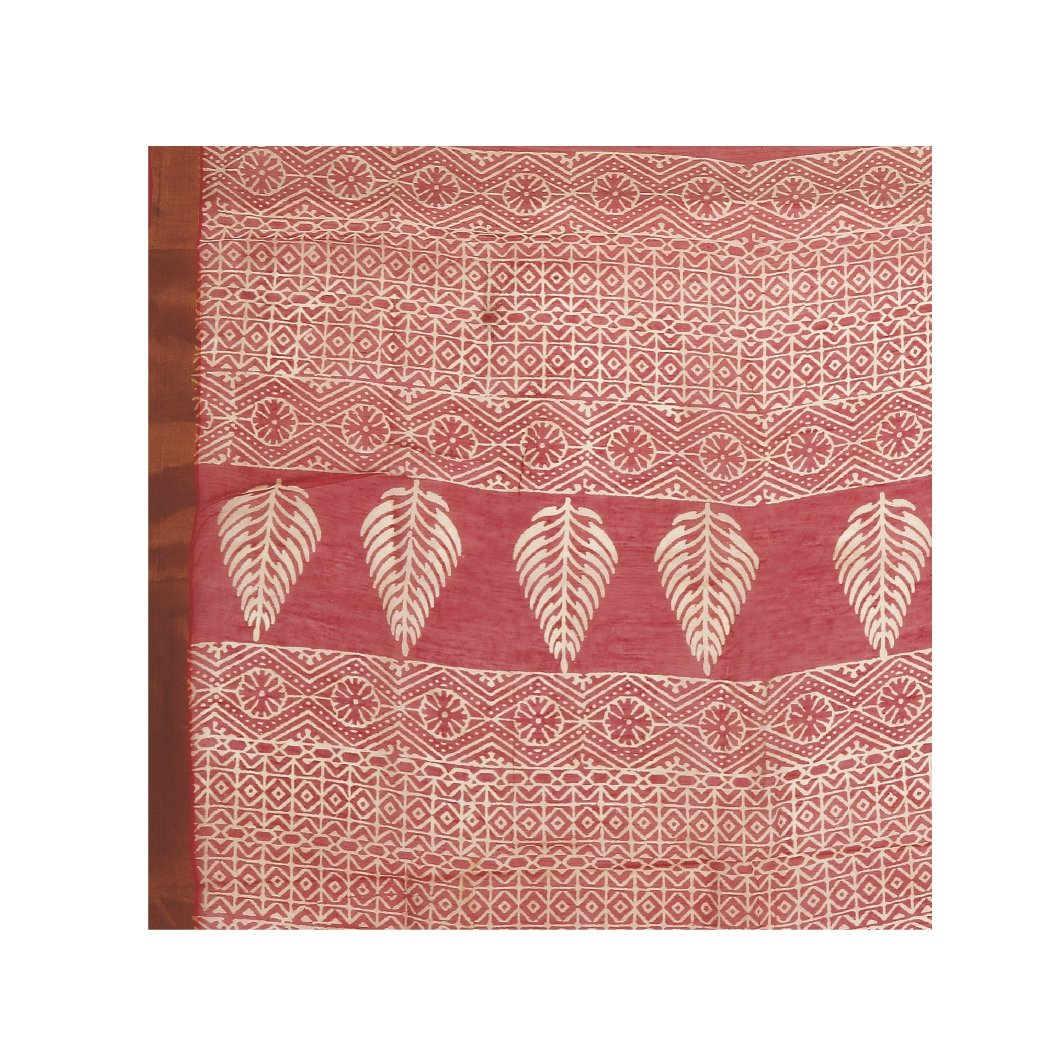 Orange Sanganeri Hand Block Print Cotton Kota Doria Supernet Handcrafted Saree-Saree-Kalakari India-RDSNSA0028-Geographical Indication, Hand Blocks, Hand Crafted, Heritage Prints, Kota Doria, Sanganeri, Sarees, Sustainable Fabrics-[Linen,Ethnic,wear,Fashionista,Handloom,Handicraft,Indigo,blockprint,block,print,Cotton,Chanderi,Blue, latest,classy,party,bollywood,trendy,summer,style,traditional,formal,elegant,unique,style,hand,block,print, dabu,booti,gift,present,glamorous,affordable,collectible,S