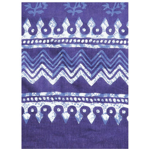 Navy Blue & White Indigo Screen Print Handcrafted Cotton Saree-Saree-Kalakari India-RDSWSA0083-Cotton, Geographical Indication, Hand Blocks, Hand Crafted, Heritage Prints, Indigo, Sarees, Screen Print, Sustainable Fabrics-[Linen,Ethnic,wear,Fashionista,Handloom,Handicraft,Indigo,blockprint,block,print,Cotton,Chanderi,Blue, latest,classy,party,bollywood,trendy,summer,style,traditional,formal,elegant,unique,style,hand,block,print, dabu,booti,gift,present,glamorous,affordable,collectible,Sari,Saree