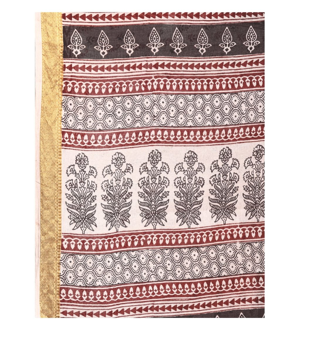 Pink Cotton Hand Block Bagh Print Handcrafted Saree-Saree-Kalakari India-ZIBASA0058-Bagh, Cotton, Geographical Indication, Hand Blocks, Hand Crafted, Heritage Prints, Natural Dyes, Sarees, Sustainable Fabrics-[Linen,Ethnic,wear,Fashionista,Handloom,Handicraft,Indigo,blockprint,block,print,Cotton,Chanderi,Blue, latest,classy,party,bollywood,trendy,summer,style,traditional,formal,elegant,unique,style,hand,block,print, dabu,booti,gift,present,glamorous,affordable,collectible,Sari,Saree,printed, hol