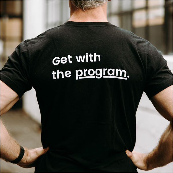 Get with the program - Men's Shirt