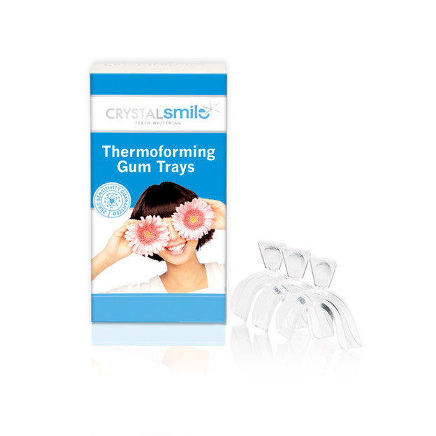 Crystal Smile 3 x Thermoforming gum trays
