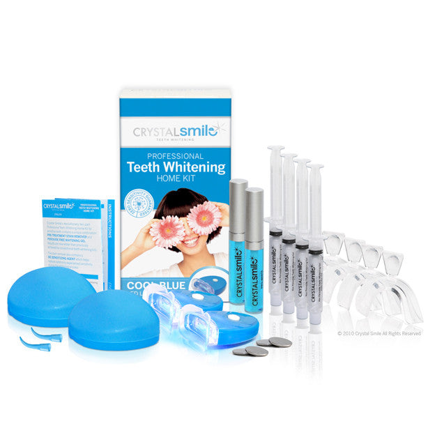Crystal Smile Advanced Super Deluxe Teeth Whitening Home Kit