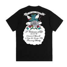 "Load image into Gallery viewer, ""RIP Henny Rat"" T-Shirt in Black or White (For Charity)"