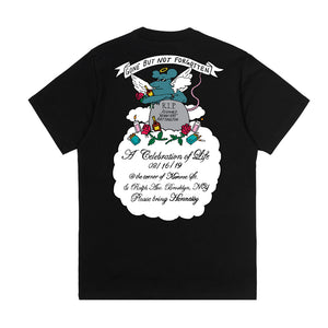"""RIP Henny Rat"" T-Shirt in Black or White (For Charity)"