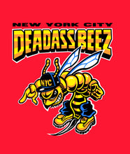 "Load image into Gallery viewer, ""NYC Deadass Beez"" T-Shirt"