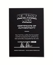 "Load image into Gallery viewer, 1 of 15 Derek Jeter ""New York Nico"" Topps Project 70 Artist Autographed Card in Silver Ink"