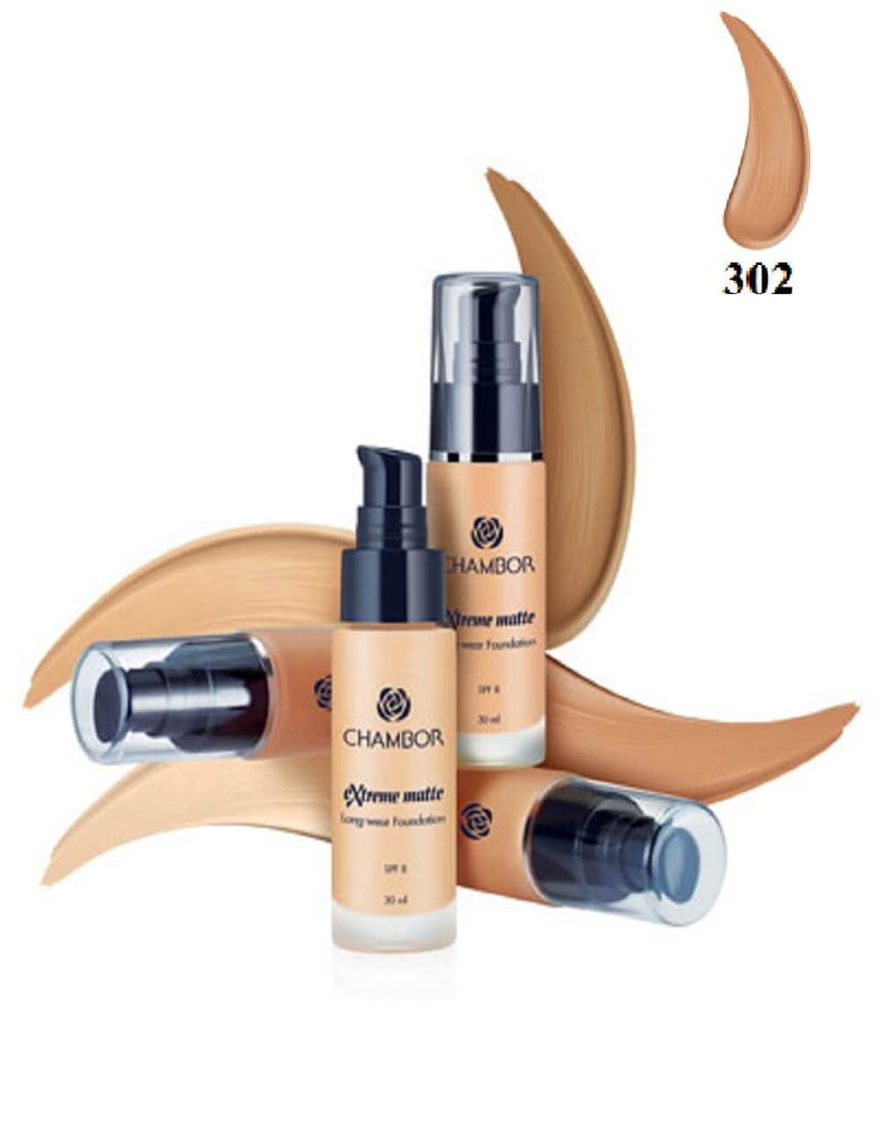Chambor Extreme Matte Long Wear Foundation 30ml