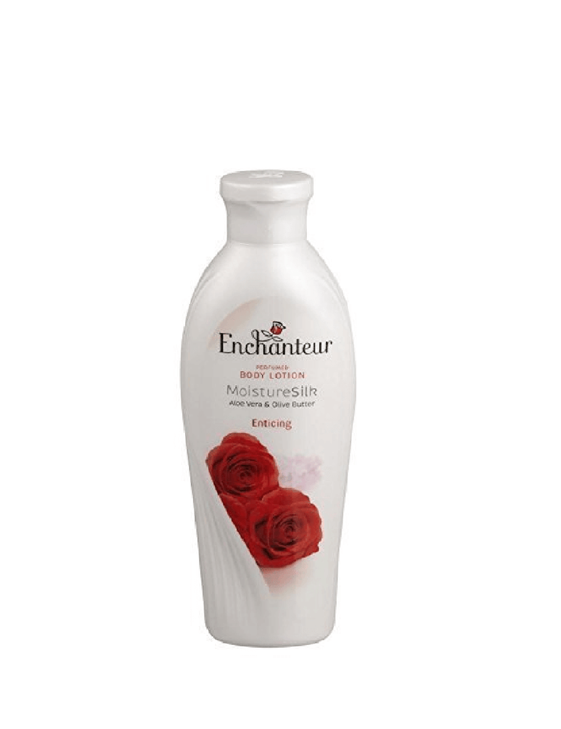 Enchanteur Perfumed Moisture Silk Enticing Body Lotion (250Ml)