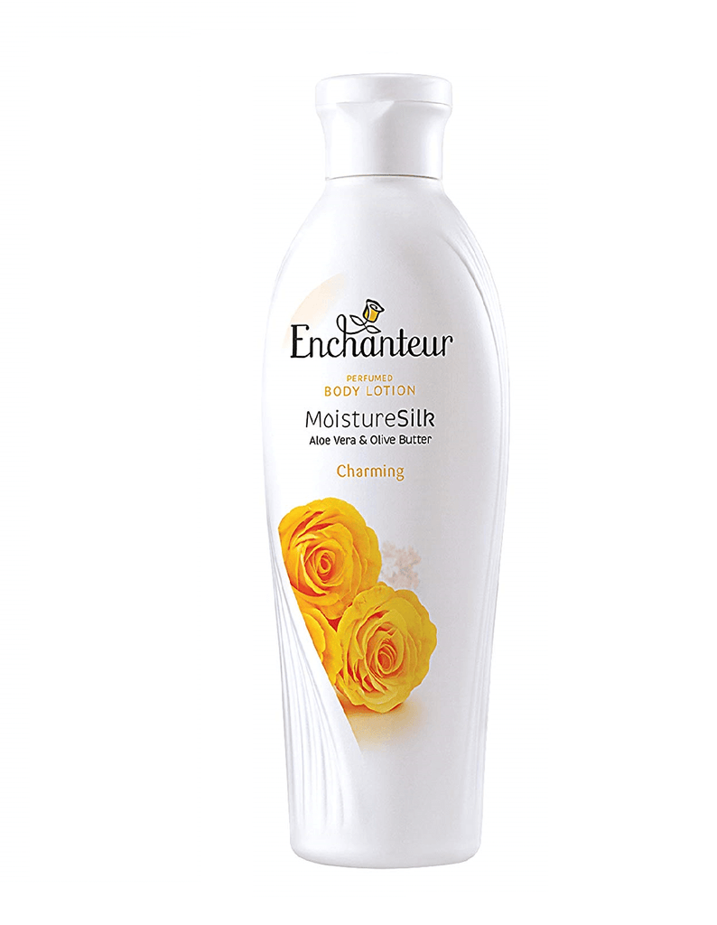 Enchanteur Charming Moisture Silk Perfumed Body Lotion (250Ml)