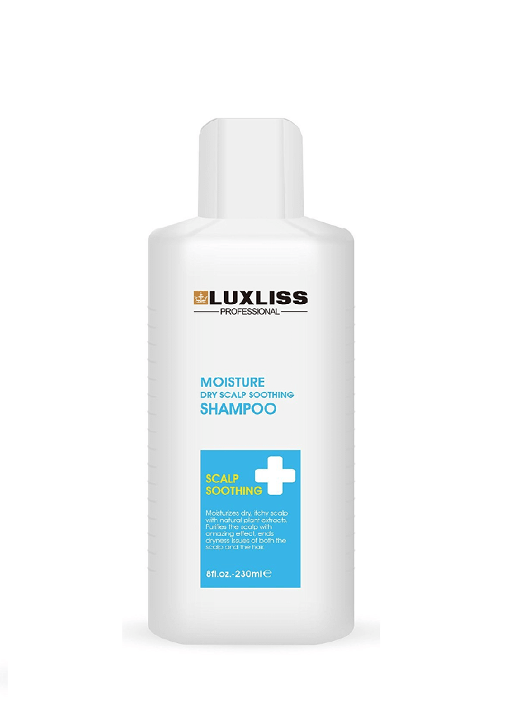 Luxliss Professional Moisture Dry Scalp Soothing Shampoo(230Ml)