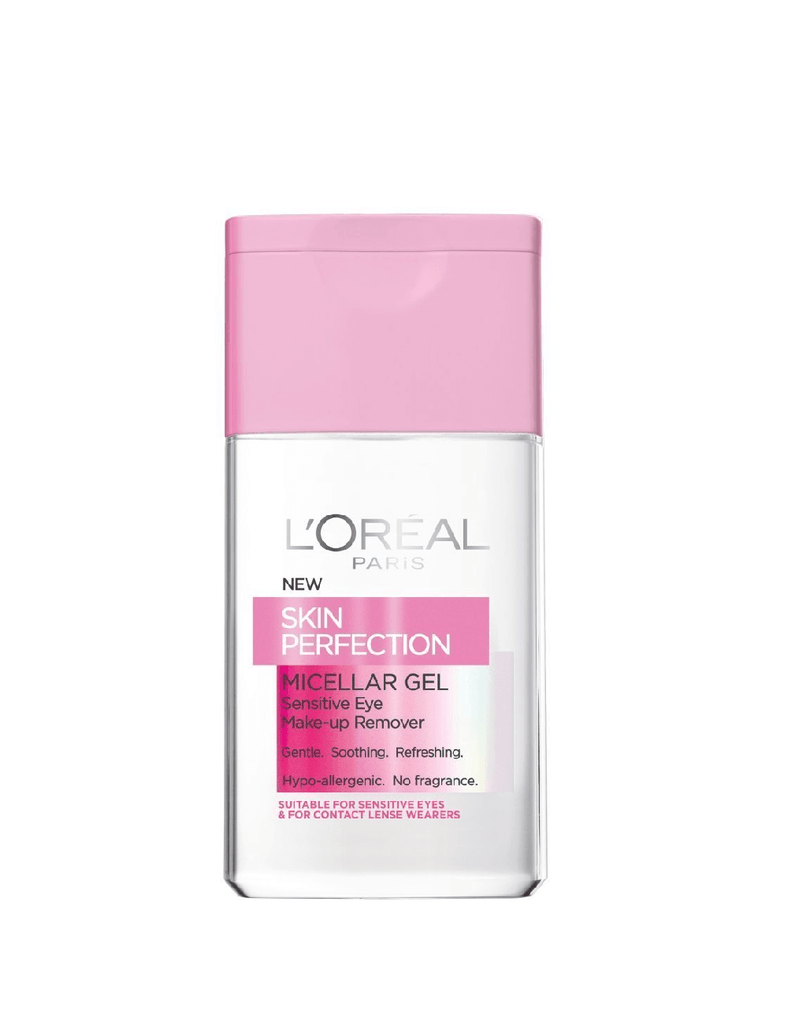 Loreal Skin Perfection Micellar Gel Eye Make Up Remover (125Ml)