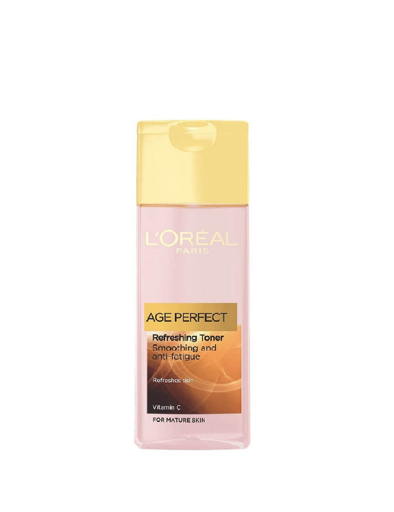 Loreal Paris Age Perfect Smoothing & Anti-Fatigue Refreshing Toner For Mature Skin (200Ml)