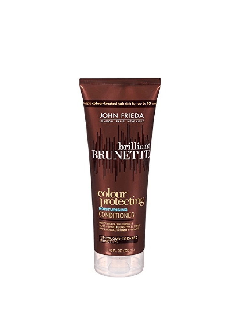 John Frieda Brilliant Brunette Colour Protecting Conditioner (250Ml)