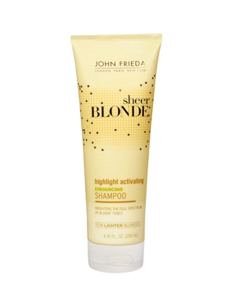 John Frieda Sheer Blonde Highlight Activating Enhancing Shampoo For Lighter Blondes (250Ml)