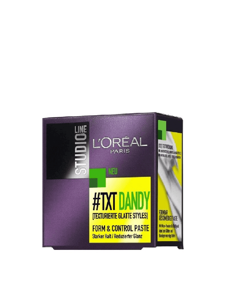 Loreal Paris Txt Dandy Form & Control Paste Putty (75Ml)