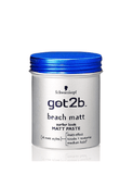 Schwarzkopf Got2B Beach Matt Surfer Look Matt Paste Hair Styler (100Ml)