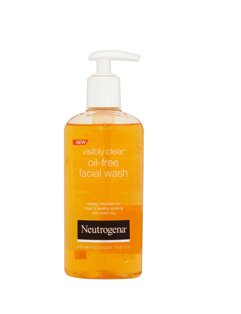 Neutrogena Visibly Clear Oil -Free Facial Face Wash (200Ml)