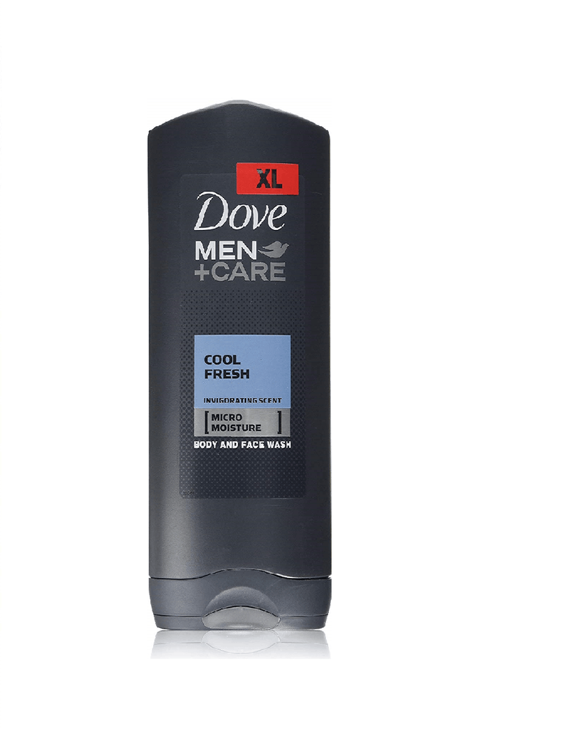 Dove Men Plus Care Cool Fresh Body & Face Wash (400Ml)