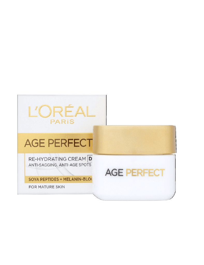 Loreal Paris Dermo-Expertise Age Perfect Re-Hydrating Day Cream For Mature Skin (50Ml)