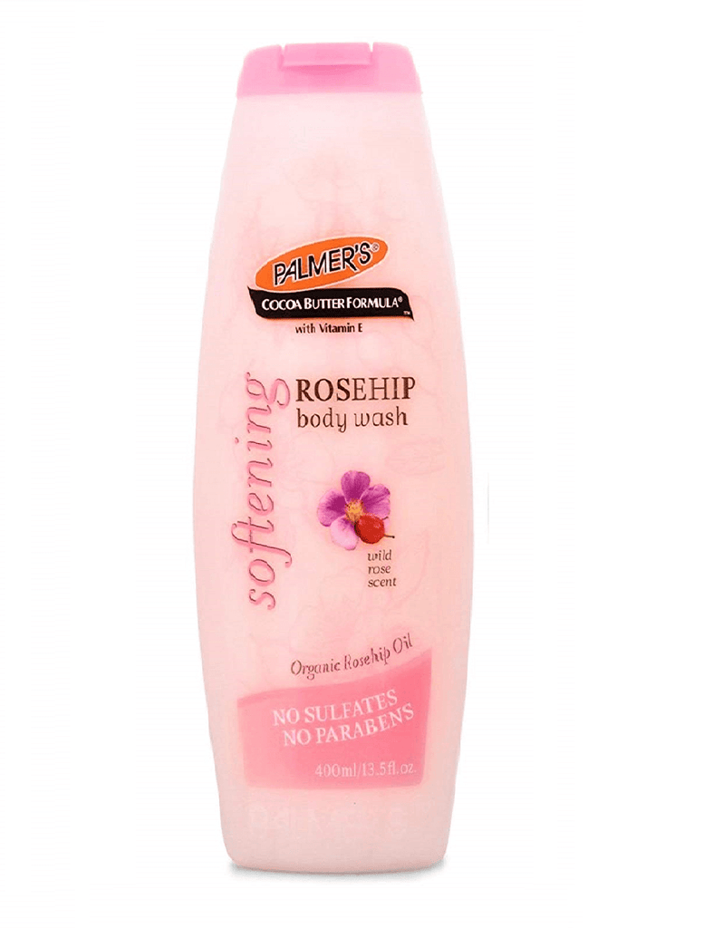 Palmers Softening Rosehip Body Wash With Wild Rose Scent (400Ml)