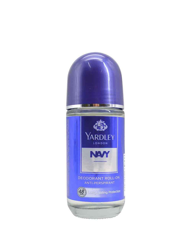 Yardley London Navy 50Ml Deo Roll-On For Men