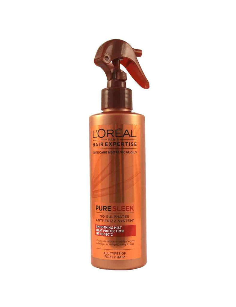 Loreal Sleek Sulphate-Free Heat Protection Smoothing Mist (200Ml)