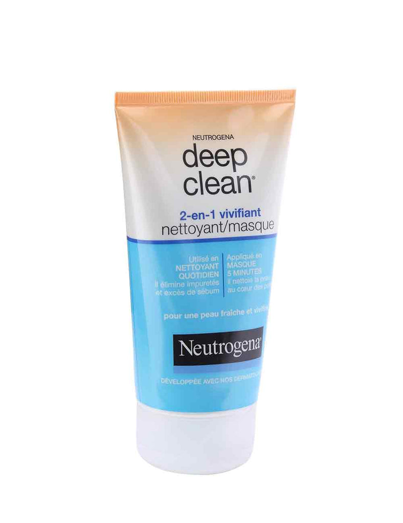 Neutrogena Deep Clean 2 In 1 Invigorating Cleanser Mask (150Ml)