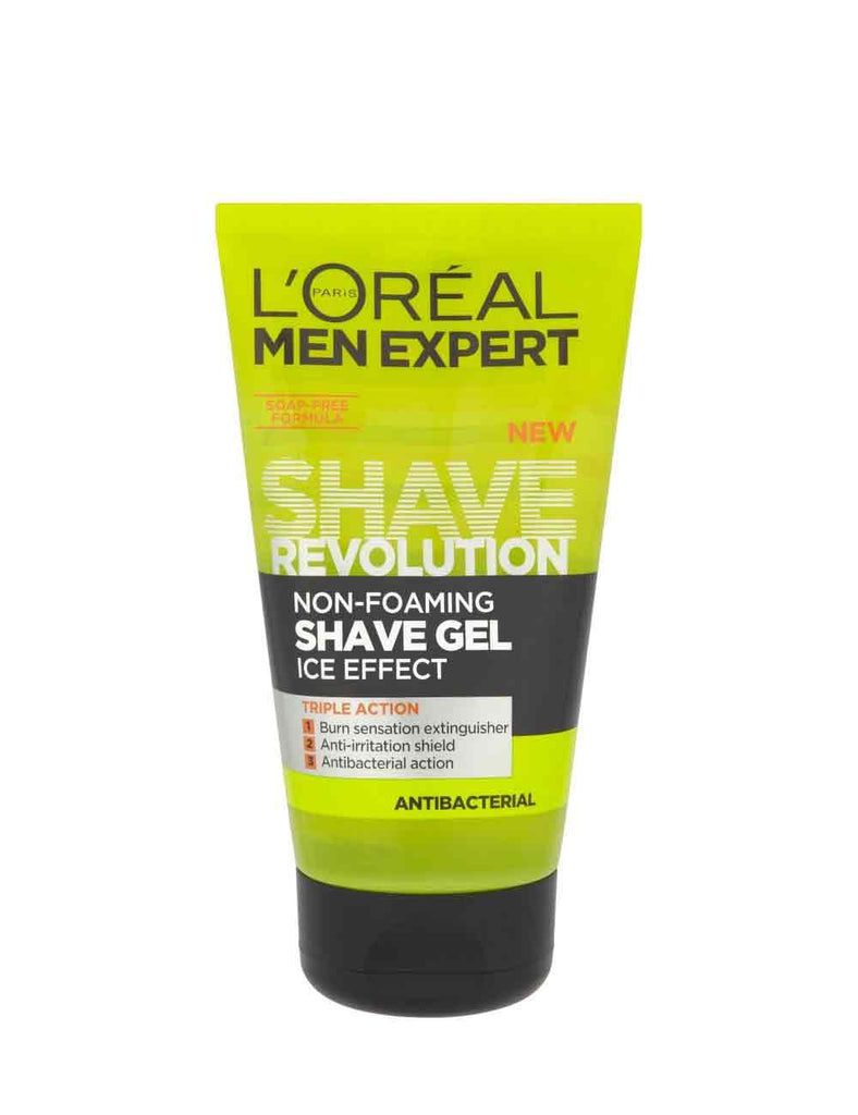 Loreal Men Expert Shave Revolution Non-Foaming Gel Ice Effect (150Ml)