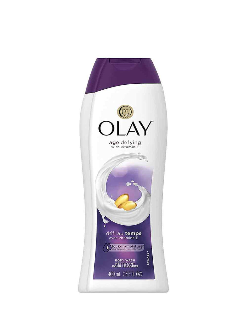 Olay Age - Defying Body Wash With Vitamin E (400Ml)