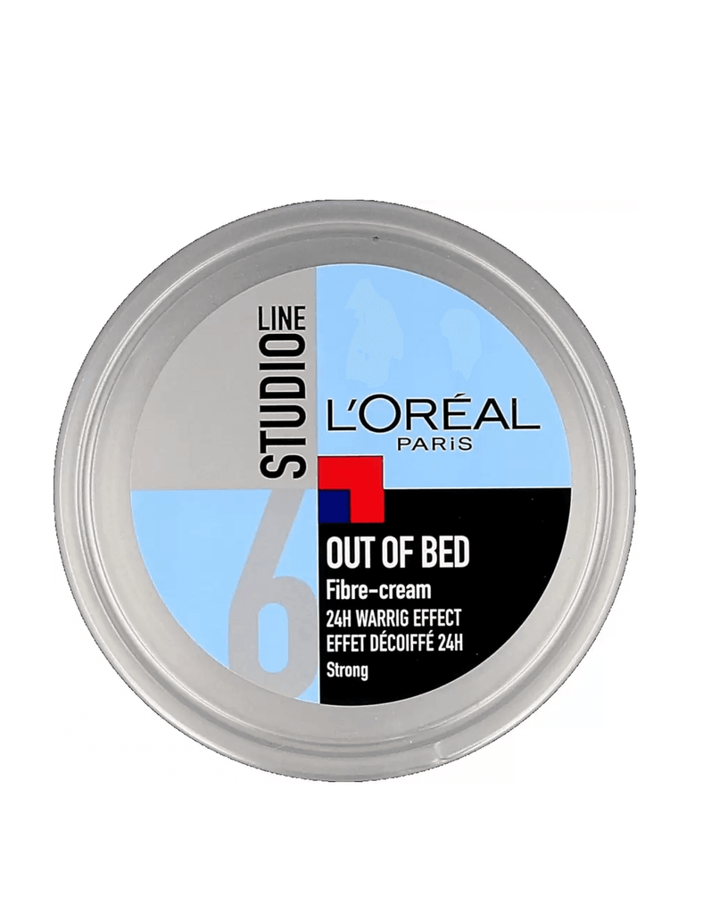 Loreal Studio Line 6 Out Of Bed Fibre Cream 24H Warrig Effect (150Ml)