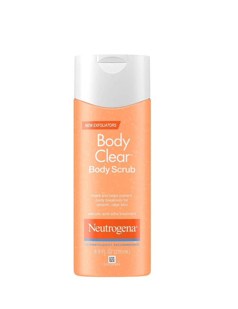 Neutrogena Body Clear Body Scrub For Smooth Clear Skin (250Ml)