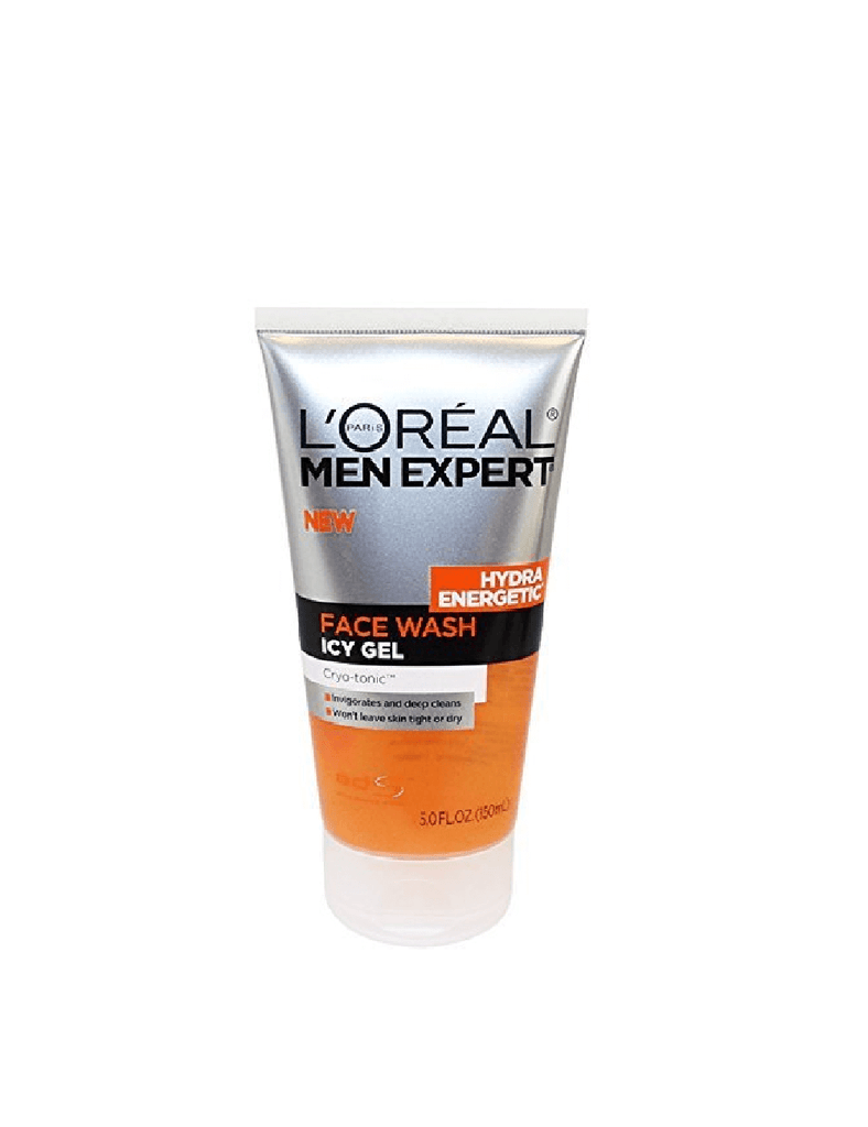 Loreal Hydra Energetic Face Wash Icy Gel Cryo-Tonic (150Ml)