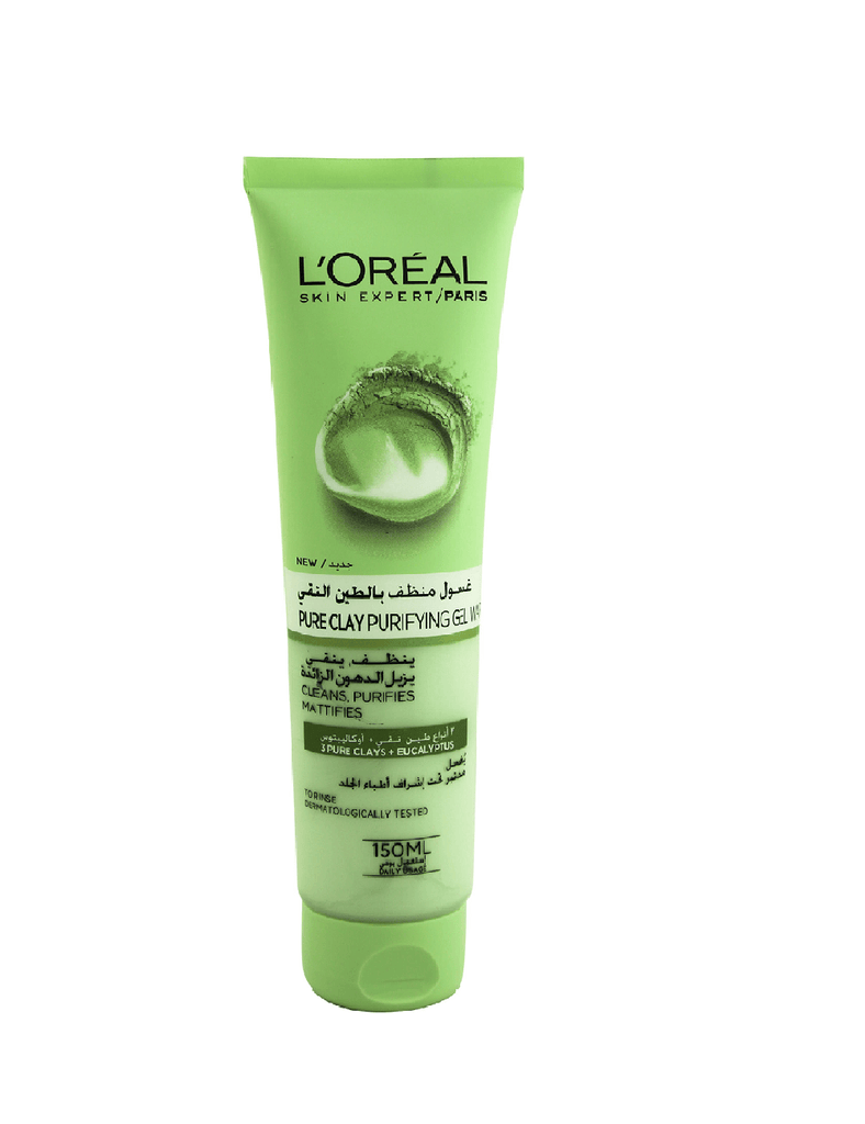 Loreal Paris Pure Clay Purity Face Wash (150Ml)
